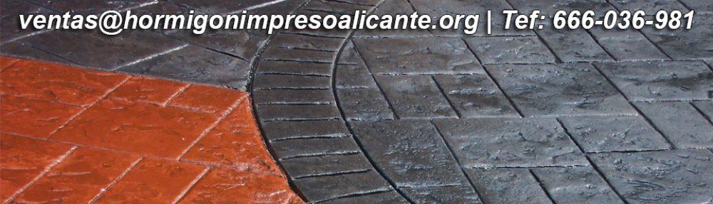 Hormigon Impreso Alicante